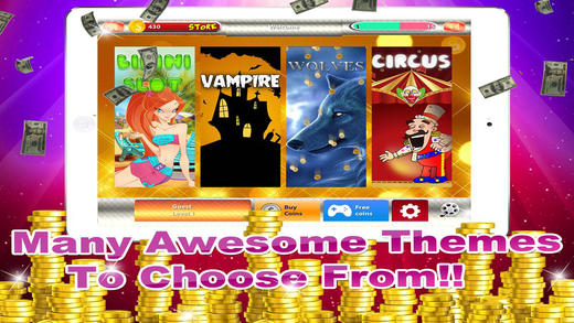 Classic Casino Jackpot Big Spin Slots Machine - Free Games