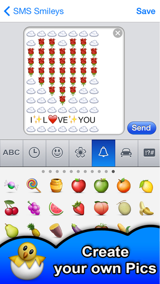 how to use smileys in whatsapp in iphone