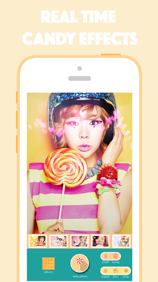 Candy Camera - Photo Decoration Font Poster Creator