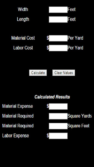Plant Coverage Calculator