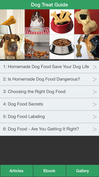 Dog Treat Guide - Homemade Dog Food for Your Dog Healthy