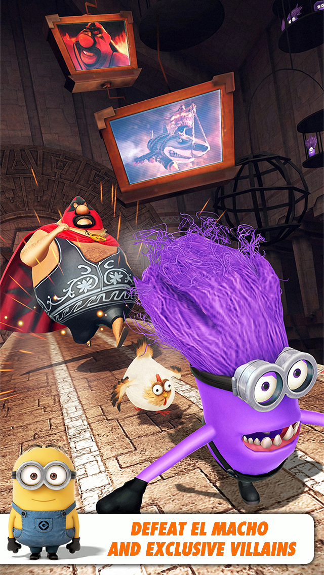 Despicable Me: Minion Rush screenshot 5