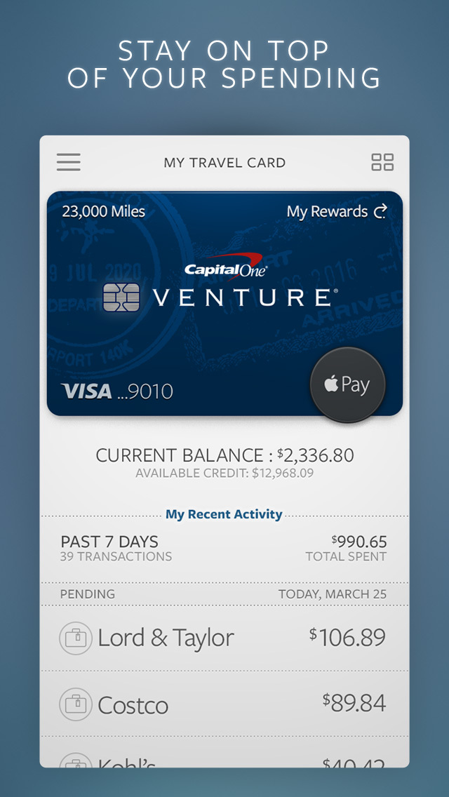 how to add a card to capital one app