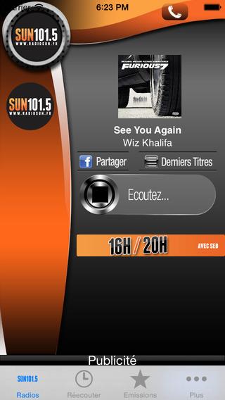 Radio Sun iPhone Screenshot 2