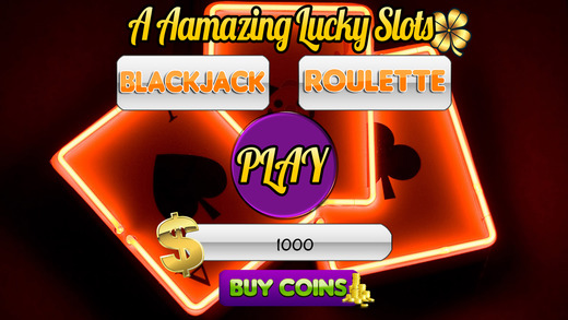 A Aamazing Lucky Slots and Blackjack Roulette
