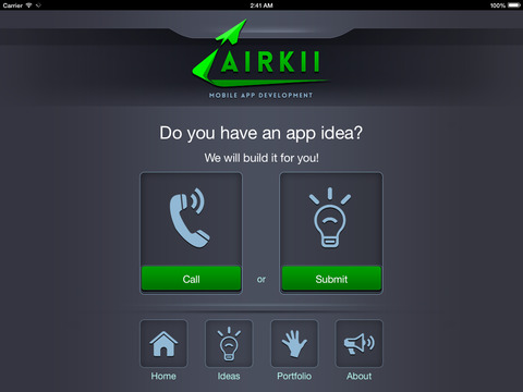 Screenshots for Airkii Inc