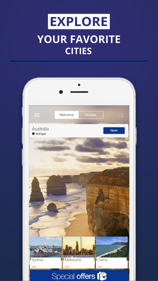 Australia - your travel guide with offline maps from tripwolf guide for sights tours and hotels in S