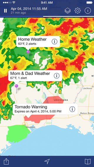 NOAA Radar Pro – Severe Weather Alerts and Forecasts