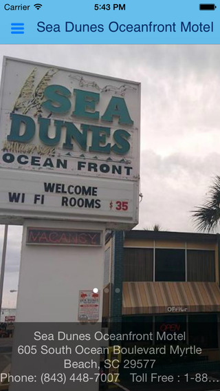 Sea Dunes Oceanfront Motel