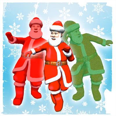 dancing santa 3d face booth christmas dance special - Christmas Elf Dance App