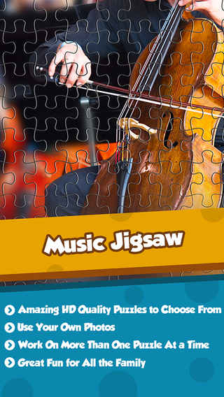 Music Pictures Puzzle Pro - Scramble The Pieces To Forge The Jigsaw