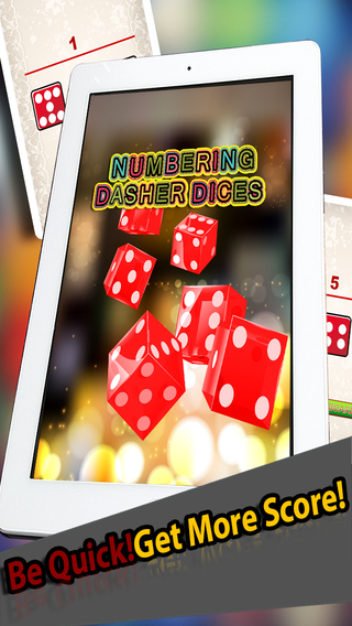 Numbering Dasher Dices Free - Move The 10 000 Dice In Best Board Puzzle Game Free