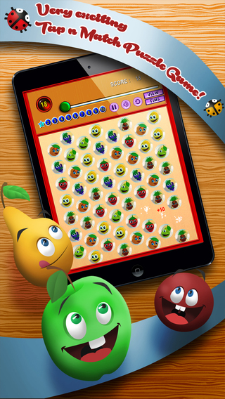 Juicy Jelly Fruit - Match 3 Puzzle Game Pro