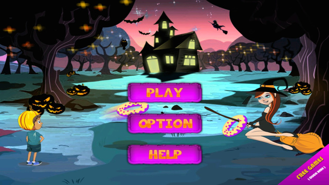 Halloween Donut Toss - The Scary Witches Academy Mania- Free