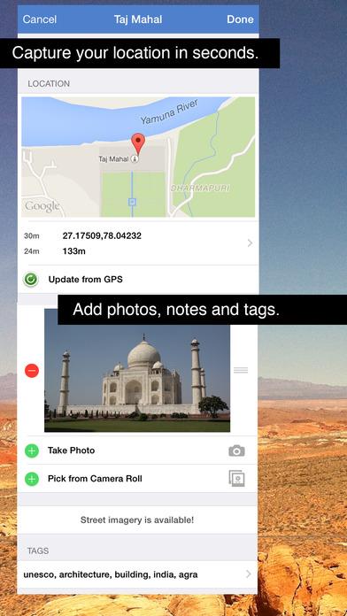 GPS Log iPhone Screenshot 3