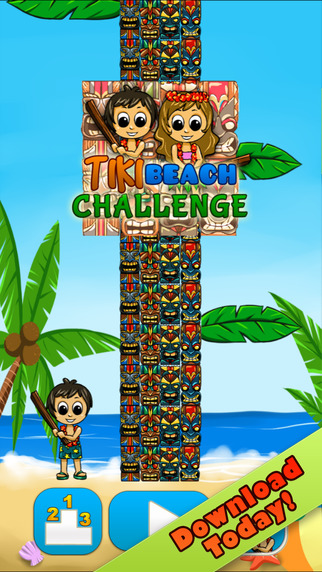 Tiki Beach Challenge Pro