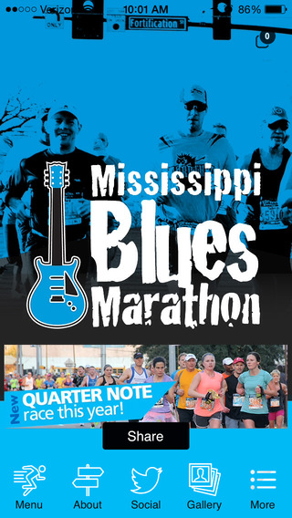 Mississippi Blues Marathon.
