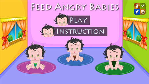 Feed Angry Babies HD