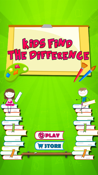Find The Difference-Simply spot and catch the hidden Differences in this kids puzzle hunt
