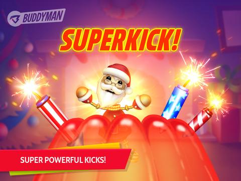 【免費遊戲App】Buddyman: Christmas Kick 2 HD-APP點子