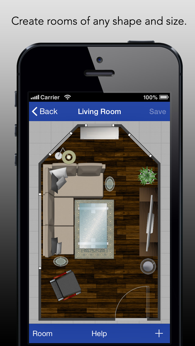 Rooms create room layouts with ease ios Design your room app