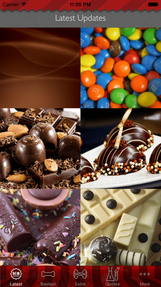 Chocolate Art Theme HD Wallpaper and Best Inspirational Quotes Backgrounds Creator