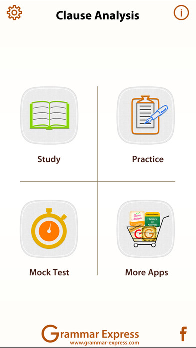 Grammar Express: Clause Analysis iPhone Screenshot 1