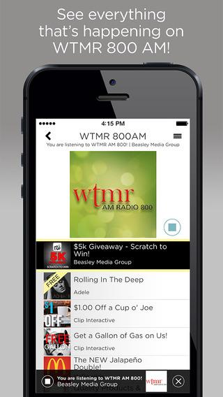 WTMR AM Radio 800