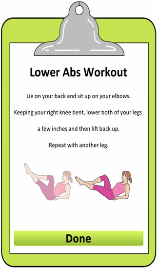 Sexy Abs Workout for women