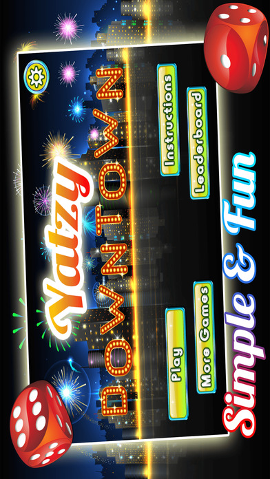 Screenshot 4 Yatzy Downtown Metro — Высокая Ставка деньги, чтобы богатства