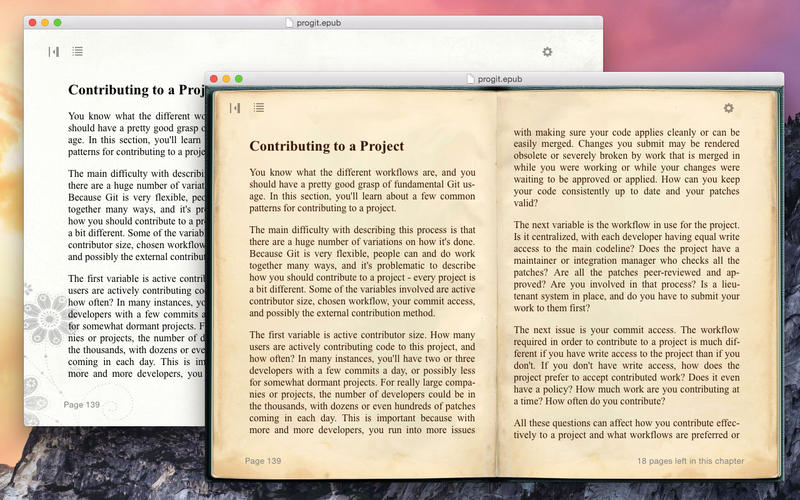 Yet EPUB Reader Screenshot - 2