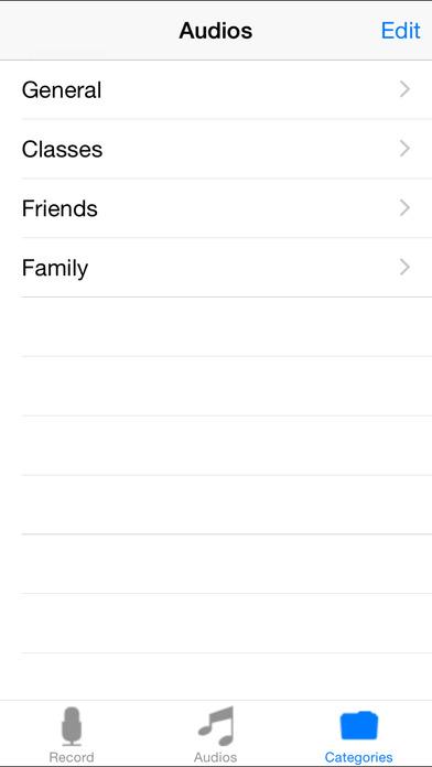 iRecord iPhone Screenshot 5