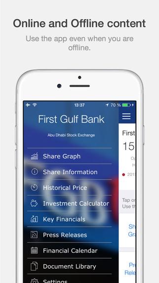 First Gulf Bank Investor Relations