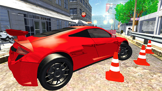 Downtown Parking Frenzy – Burning Wheels Precision Passion Fest Free