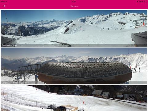 Les Sybelles pour iPad screenshot 2