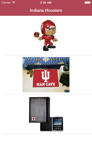FanGear for Indiana Hoosiers - Shop for Apparel Ac