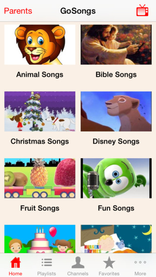 GoSongs - Kids Songs Ultimate YouTube Collection