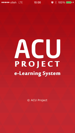 ACU e-Learning System App