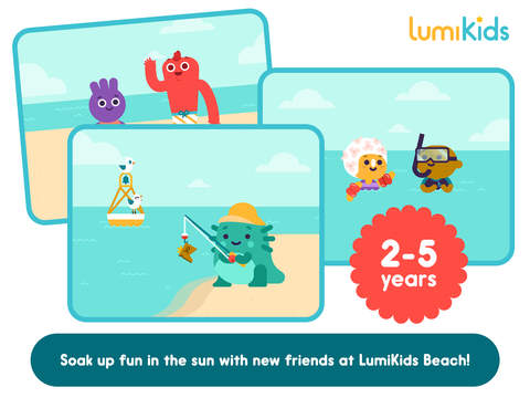 LumiKids Beach by Lumosity Early Learning Play for Kids