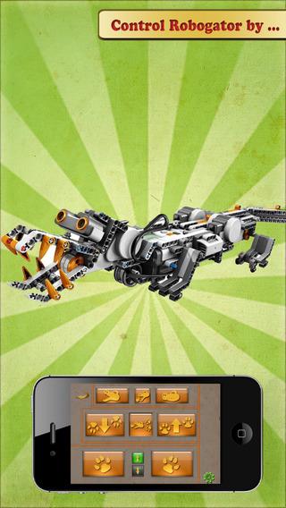 RoboCroc - NXT Robogator Remote