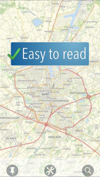 Ghent Travelmapp