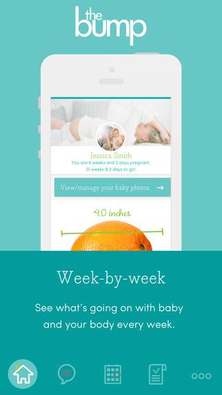 The Bump Week-by-Week Pregnancy and Newborn Tracker