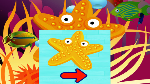 Sea Animals Puzzle Game For Kids