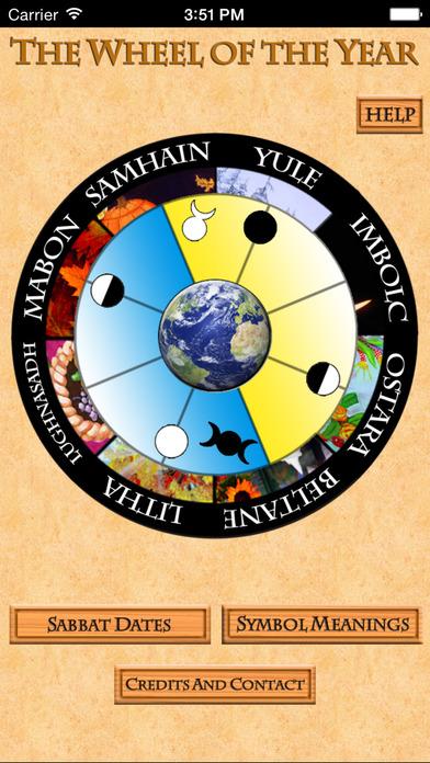 wiccan calendar app