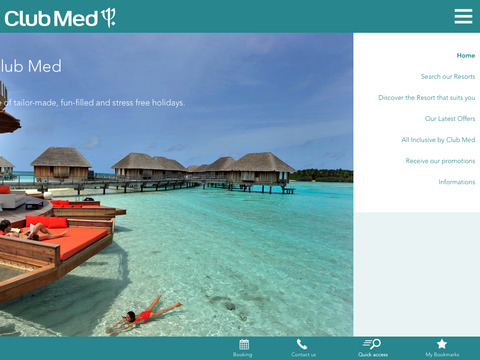 Club Med for iPad