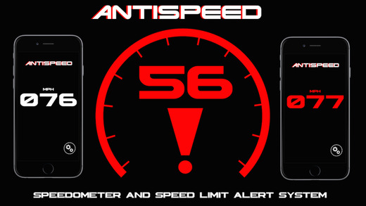 AntiSpeed FREE-Speedometer and Speed Limit Alert System for Apple Watch