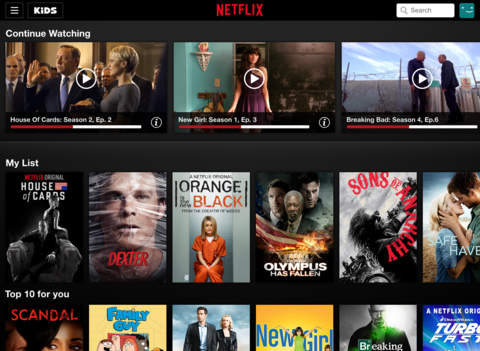 netflix on the app store on itunes