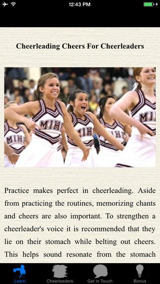 Cheerleading Cheers For Cheerleaders