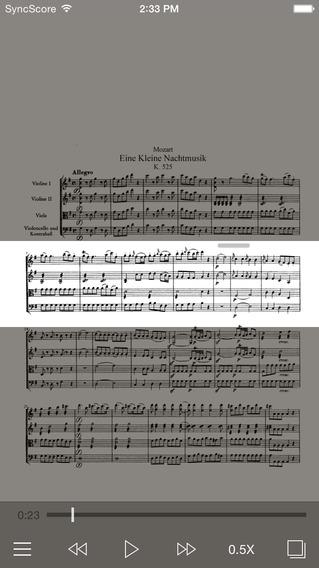 Mozart Eine kleine Nachtmusik - SyncScore