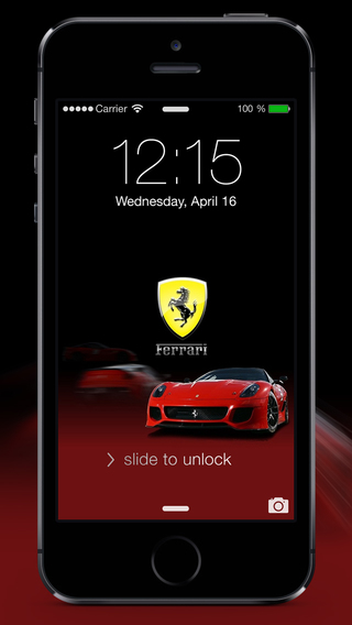 SuperCars - HD Wallpapers Lock Screens for iOS 8